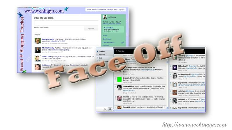faceoff seesmic browser twitter