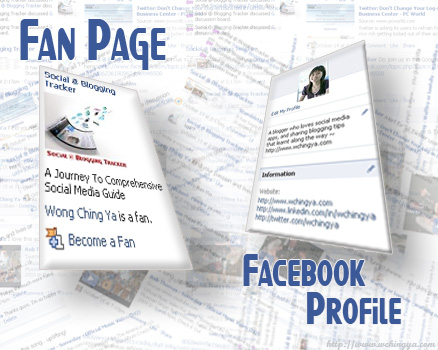 Facebook fan page & FB profile